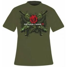 T-Shirt Mec GEARS OF WAR 3 - Lancers