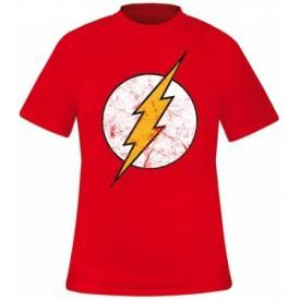 T-Shirt Mec FLASH - Logo Grunge
