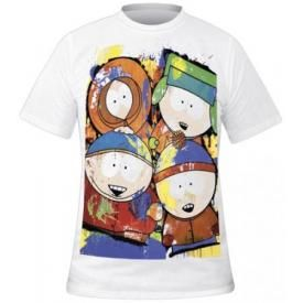 T-Shirt Mec SOUTH PARK - Painted Characters