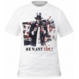 T-Shirt Mec BATMAN - Arkham City We Want You