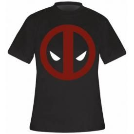 T-Shirt Mec DEADPOOL - Logo