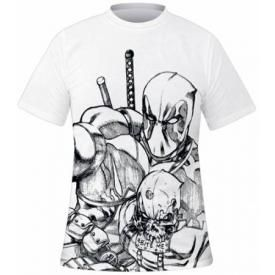 T-Shirt Mec DEADPOOL - Sketch