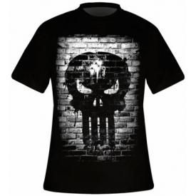 T-Shirt Mec THE PUNISHER - Bricks