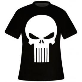 T-Shirt Mec THE PUNISHER - Logo