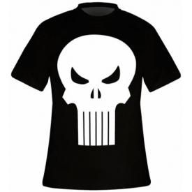 T-Shirt Mec THE PUNISHER - Skull