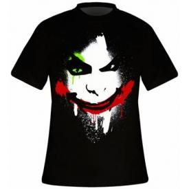 T-Shirt Mec BATMAN - Arkham City Halloween Joker
