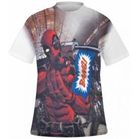 T-Shirt Mec DEADPOOL - All Over