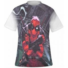 T-Shirt Mec DEADPOOL - Cash Sublimation