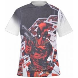 T-Shirt Mec DEADPOOL - Strip Sublimation