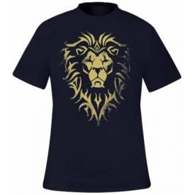 T-Shirt Mec WARCRAFT - Alliance Logo