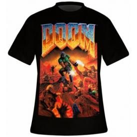 T-Shirt Homme DOOM - Classic Box Art
