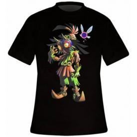 T-Shirt Homme NINTENDO - Zelda Majora's Mask