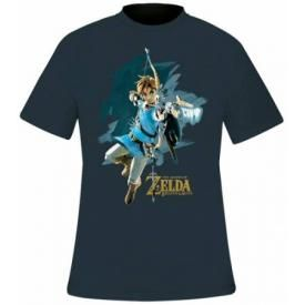 T-Shirt Homme NINTENDO - Zelda Breath Of The Wild Cover