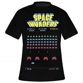 T-Shirt Homme SPACE INVADERS - Arcade Un