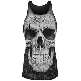 Tunique DARK WEAR - Tribal Skull