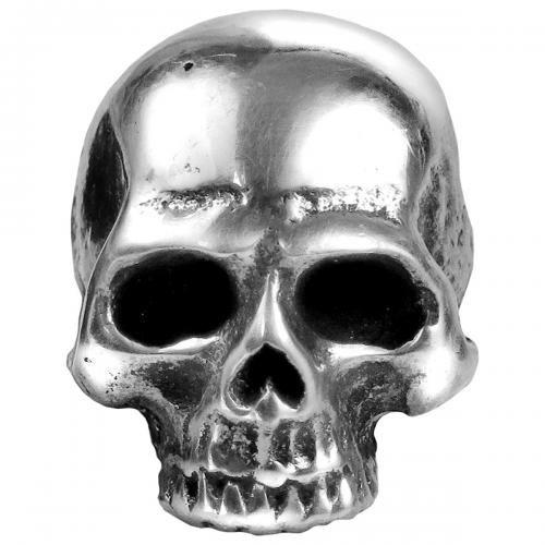boucle d'oreille skull
