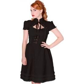 Robe BANNED - Steampunk Dress