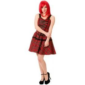 Robe BANNED - Your Bones Red Tartan