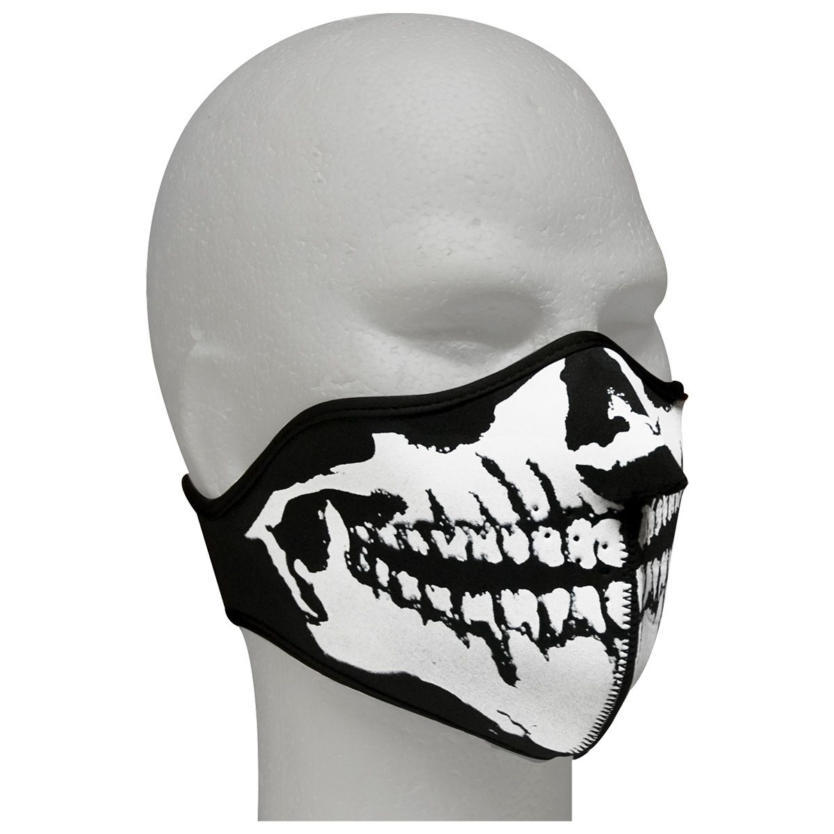 masque 7x white skull masques rock a gogo. Black Bedroom Furniture Sets. Home Design Ideas