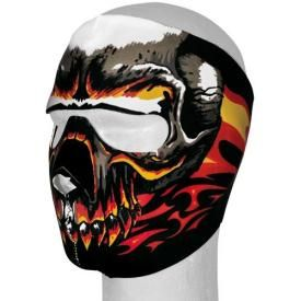 Masque 7X - Skull Flamming