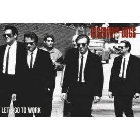 Poster RESERVOIR DOGS - Let's Go To Work