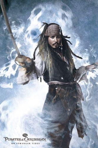 Poster PIRATES DES CARAIBES - Jack Sparrow - Rock A Gogo 105af19766e