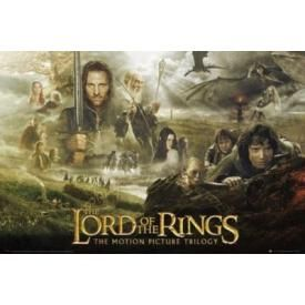 Poster LORD OF THE RINGS - Trilogy