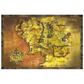 Poster LORD OF THE RINGS - Map