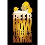 Poster SIMPSONS - Solution