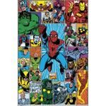 Poster MARVEL COMICS - Grid