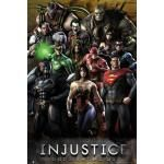 Poster INJUSTICE - Gods Among Us
