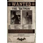 Poster BATMAN - Wanted Arkham Origins