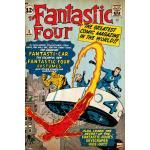 Poster THE FANTASTIC FOUR - The Greatest