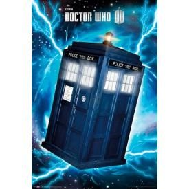 Poster DOCTOR WHO - Traveling Tardis