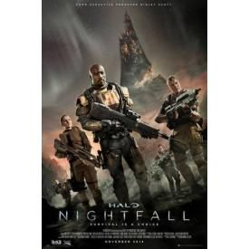 Poster HALO NIGHTFALL - Key Art