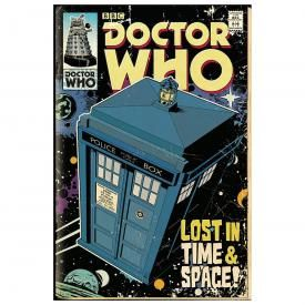 Poster DOCTOR WHO - Tardis Comic Cover