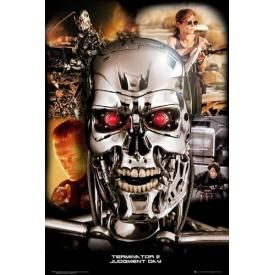 Poster TERMINATOR - Judgment Day Collage
