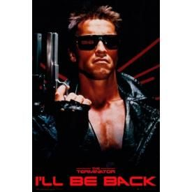 Poster TERMINATOR - I'll Be Back