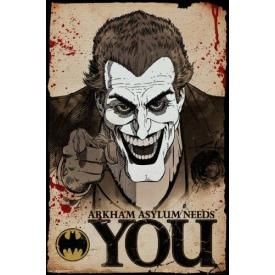 Poster BATMAN - Joker Needs You