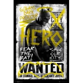 Poster BATMAN V SUPERMAN - Wanted Batman