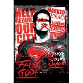 Poster BATMAN V SUPERMAN - False God