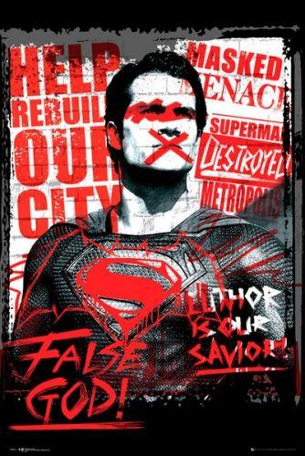 Image de Poster BATMAN V SUPERMAN - False God