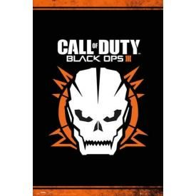 Poster CALL OF DUTY - Black Ops 3 Skull