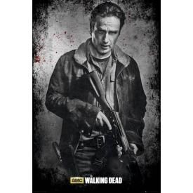 Poster THE WALKING DEAD - Rick In Black