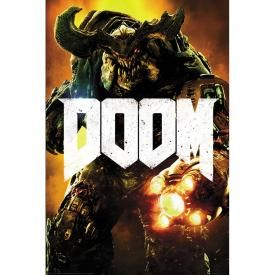 Poster DOOM - Cyber Demon
