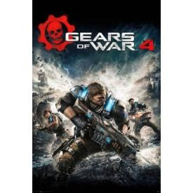 Poster GEARS OF WAR - 4 Game Cover