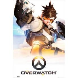 Poster OVERWATCH - Key Art Tracer