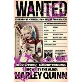 Poster SUICIDE SQUAD - Harley Quinn Wanted
