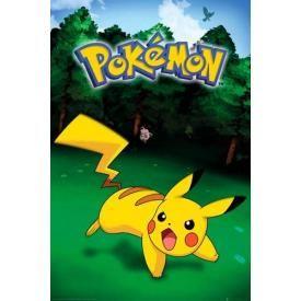 Poster NINTENDO - Pokémon Pikachu Catch