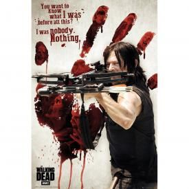 Poster THE WALKING DEAD - Bloody Hand